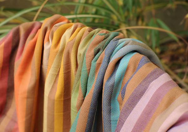 Barefoot Rainbow Girasol Wrap