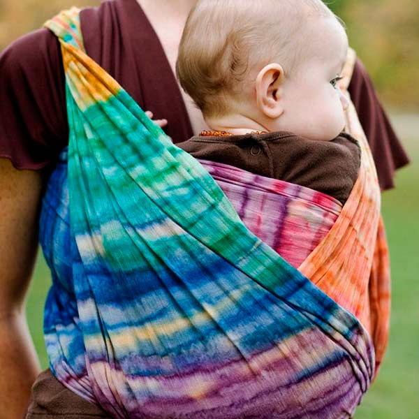 Batik Rainbow Wrapsody Hope Wrap