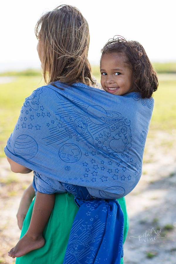 Toddler Back Carry Birthing Goddess Wrap