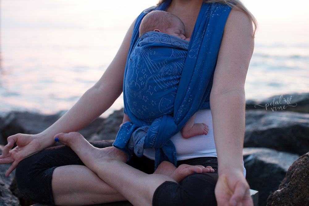 Birthing Goddess wrap After Newborn Baby
