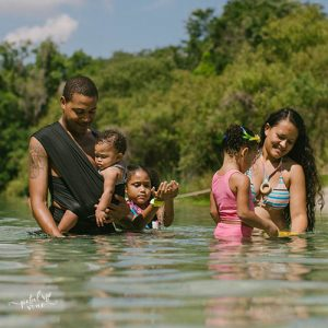 Family at Lithia Springs with Wrap DuO Water Wrap