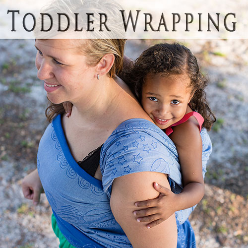 Carrying Toddlers & PreSchoolers in Woven Wraps