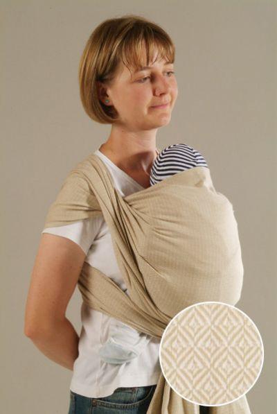 Leo Natural Storchenwiege Wraparound Baby Carrier Wrap Your Baby