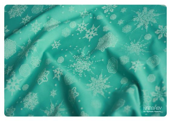 Snowslakes turquoise wool3_medium