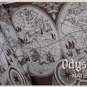 Original Antique Map Wrap Odyssey from Natibaby