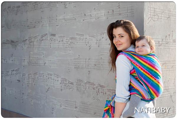 RainbowMusicBabyWrapSC