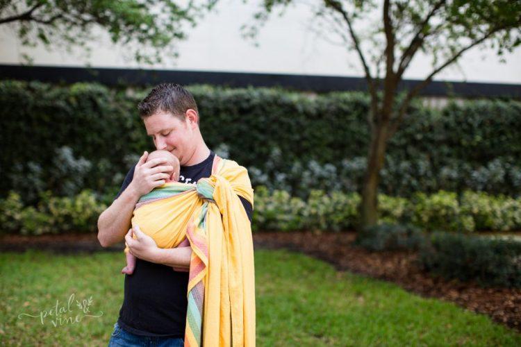Girasol Sunshine Rainbow Newborn Wrap