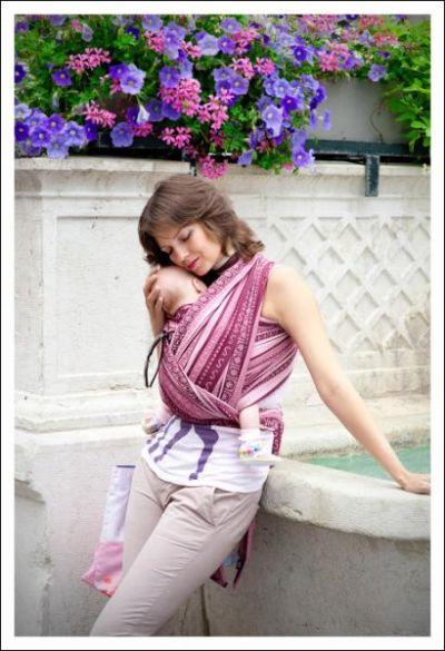 Zara Tri Sugar Ellevill Wraparound Baby Carrier - Wrap ...
