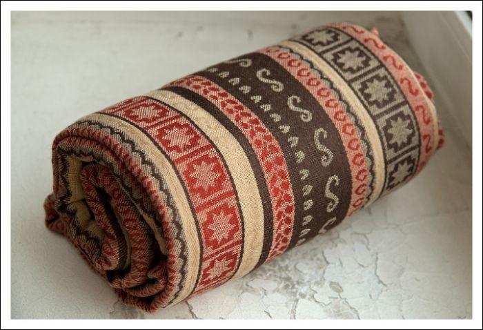 Zara Tri Spice Ellevill Wraparound Baby Carrier - Wrap ...