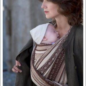 Ellevill Zara Storm Wrap linen blend woven