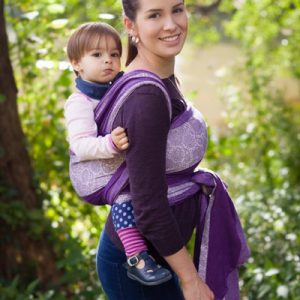 02b32833821 Paisley Vanessa Ellevill Wraparound Baby Carrier - Wrap Your Baby