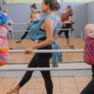 EllaRoo Maija wrap at Babywearing Ballet