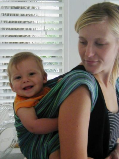 Rucksack Carry with Maija EllaRoo