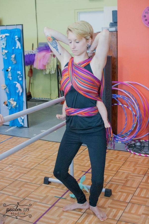 Babywearing Ballet with EllaRoo LaRae