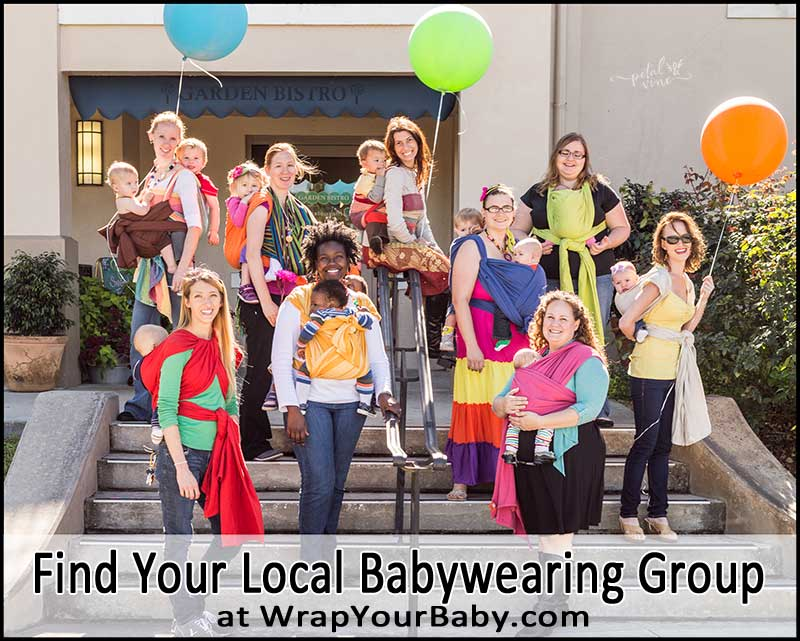 Directory of local Babywearing Groups and Lending Libraries Around the World