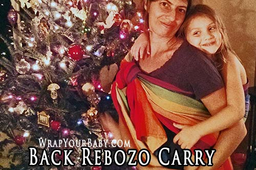Woven Wrap Back Carry Database Wrap Your Baby