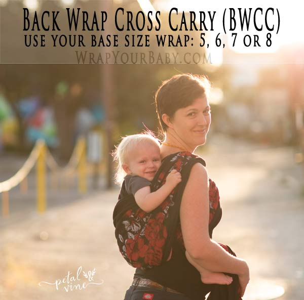How to wrap Back Wrap Cross Carry