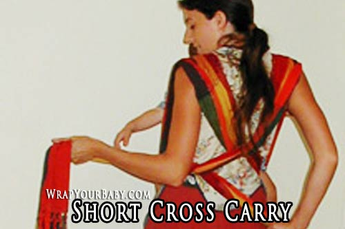 Short Cross Carry for Woven Wraps