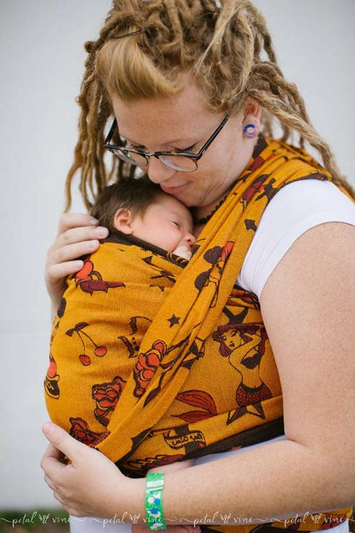 Natibaby Tattooed Baby Carrier