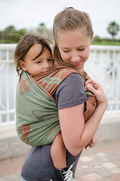 Double Sling Carry - Wrap Your Baby