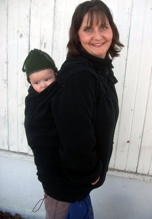 Back Carry in a Kinder Jacket
