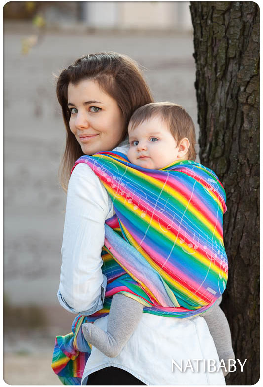 Rainbow Ode to Joy Wrap