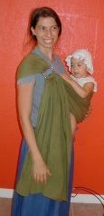 Ring Sling Hip Carry