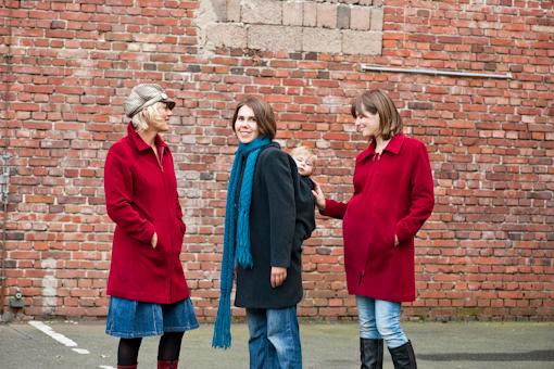 MamaJacket for babywearing, maternity, or a regular winter coat