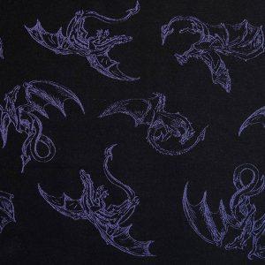 Smoki Purple & Black Lenny Lamb Wrap