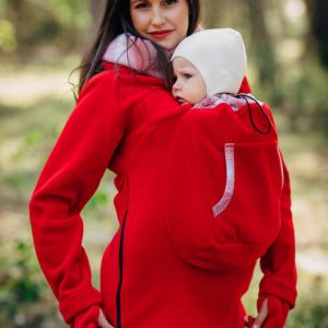 Lenny Lamb Babywearing Sweatshirt with new zipper