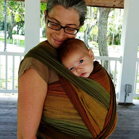 Girasol Sherwood Woven Wrap Baby Carrier Wrap Your Baby