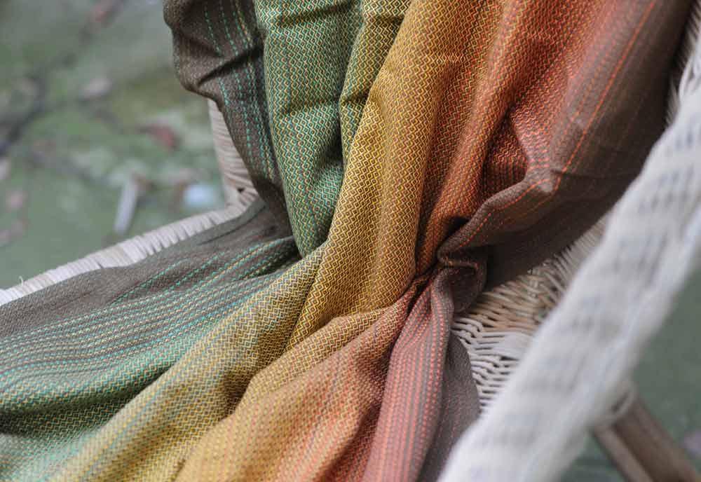 Girasol Sherwood woven baby wrap
