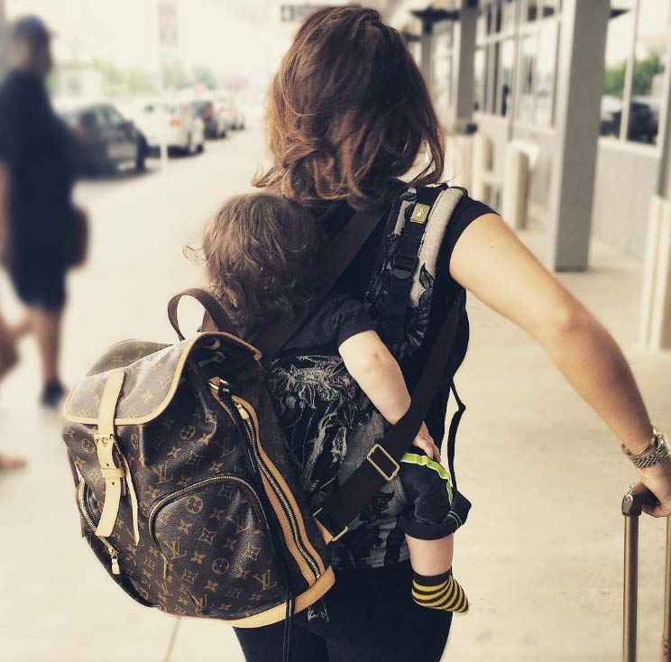 Reby Sky Hardy Babywearing for Travel