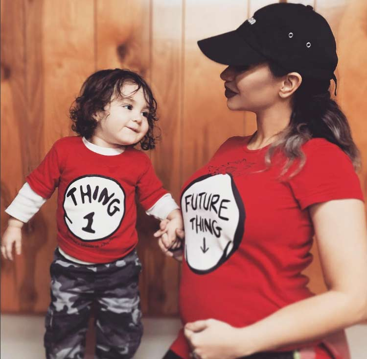 King Maxel and Reby Sky, pregnant with baby #2