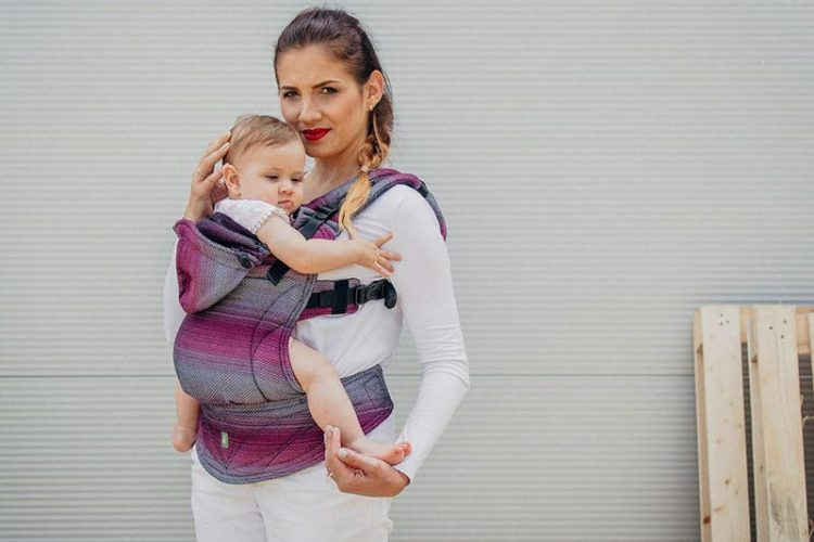 Little Herringbone Inspiration Ergonomic Carrier (SSC)