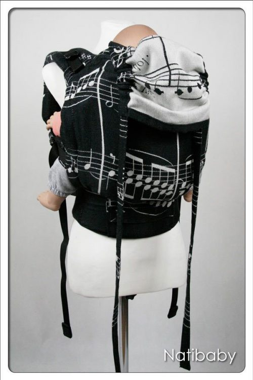 Nati Notes NatiGo carrier black/white