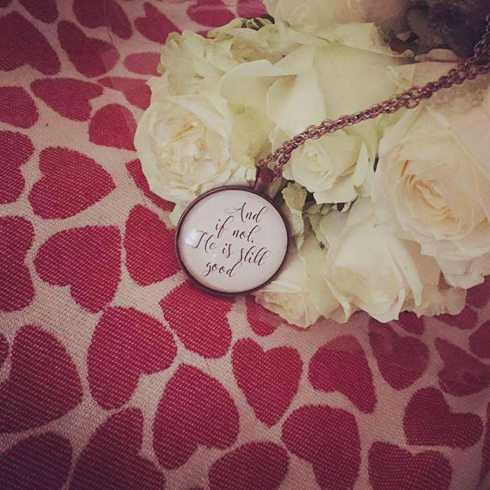 Roses, Smitten Wrap, Locket