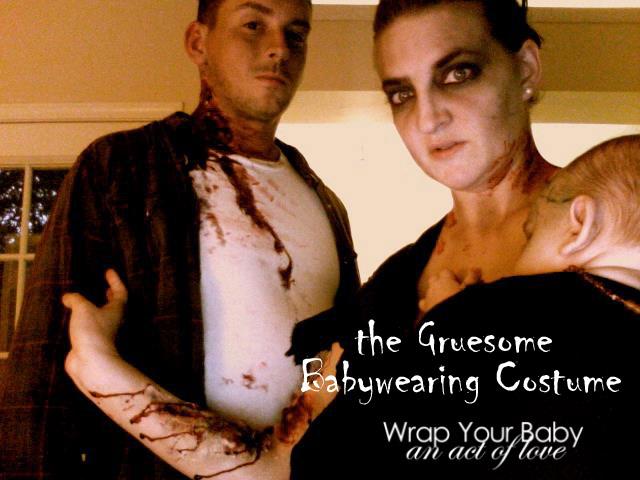 Creepy Vampiric Babywearing Costume