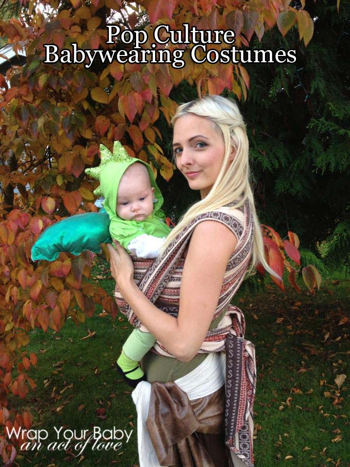 Pop Culture Babywearing Costume GOT