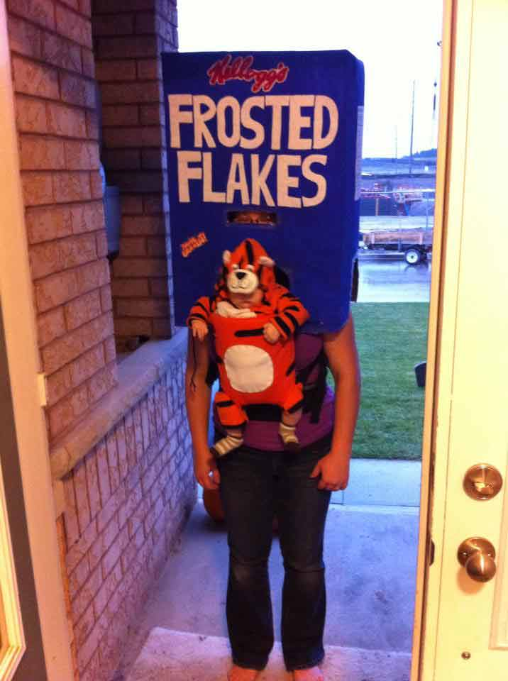 Tony the Tiger Babywearing Costume