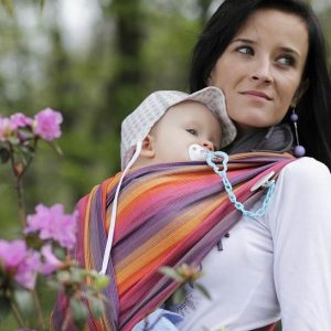 Lenny Lamb Sunset Rainbow Wrap and Carriers
