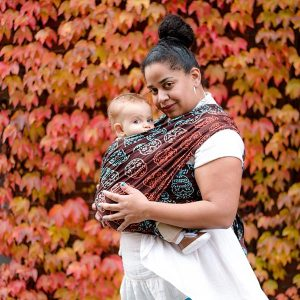 Wrapsody Vesta Sugar Skulls Baby Wrap
