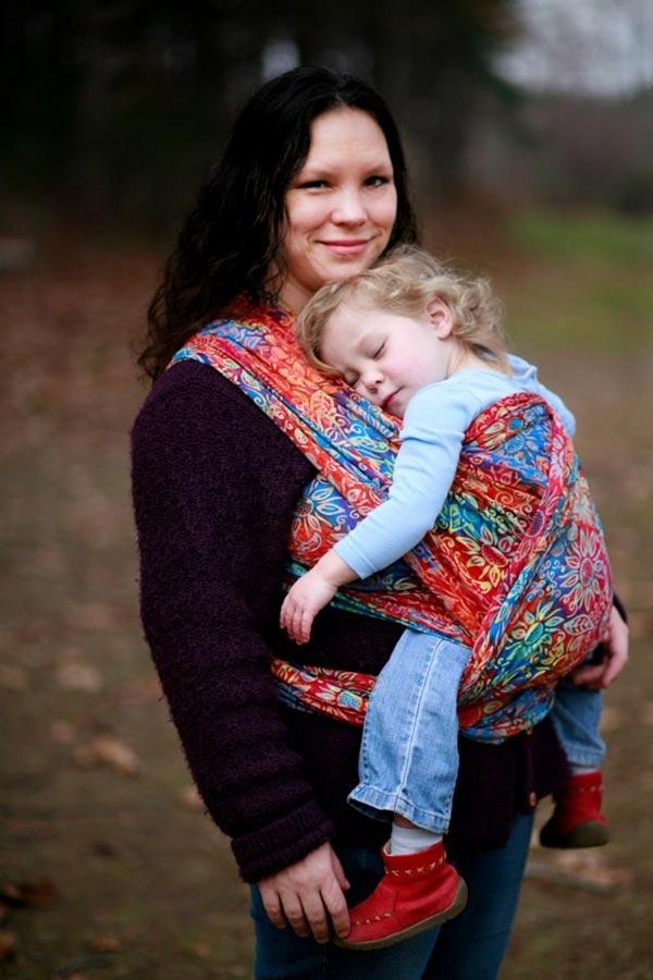 Toddler FWCC in Wrapsody Jennifer Baby Wrap