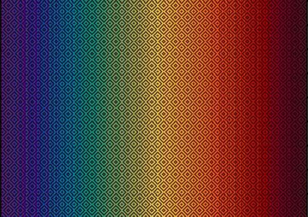 Girasol Rainbow Love Woven Wrap