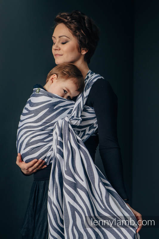 Lenny Lamb Zebra Woven Wrap Baby Carrier