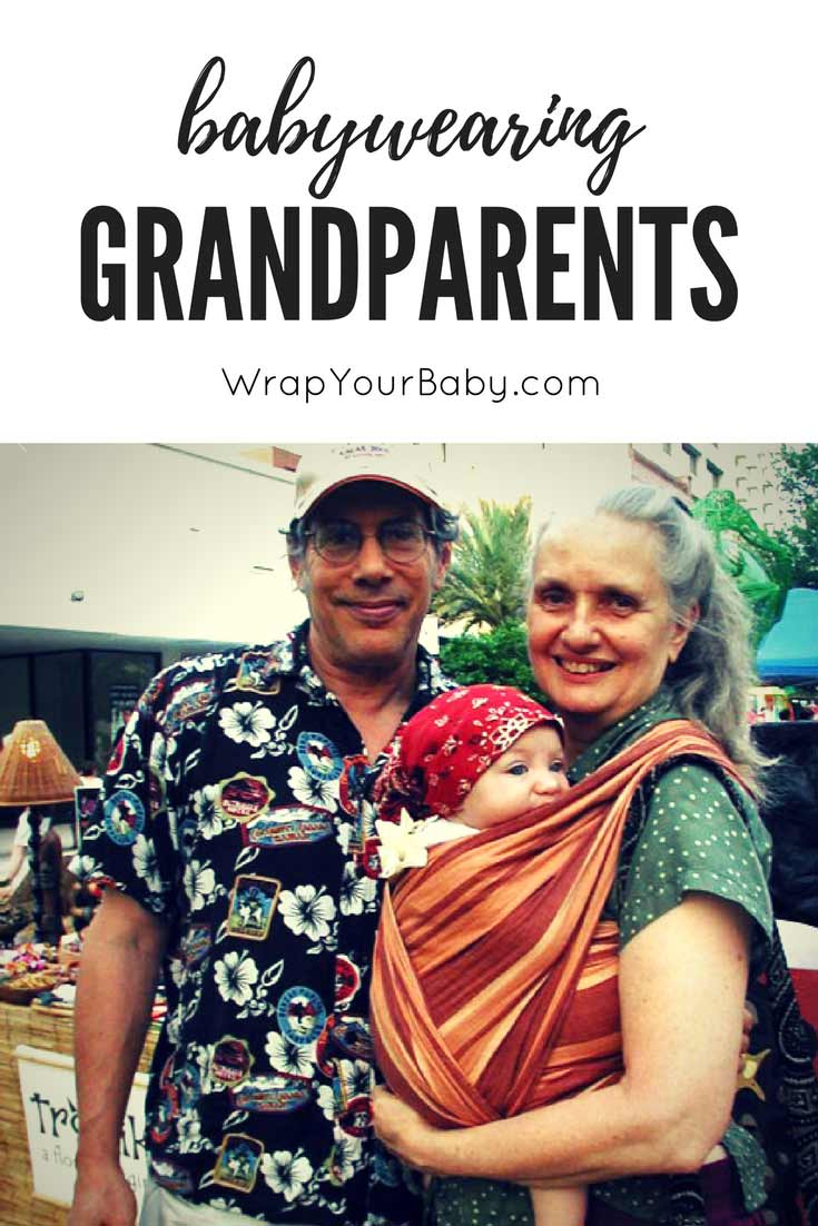 Babywearing Grandparents