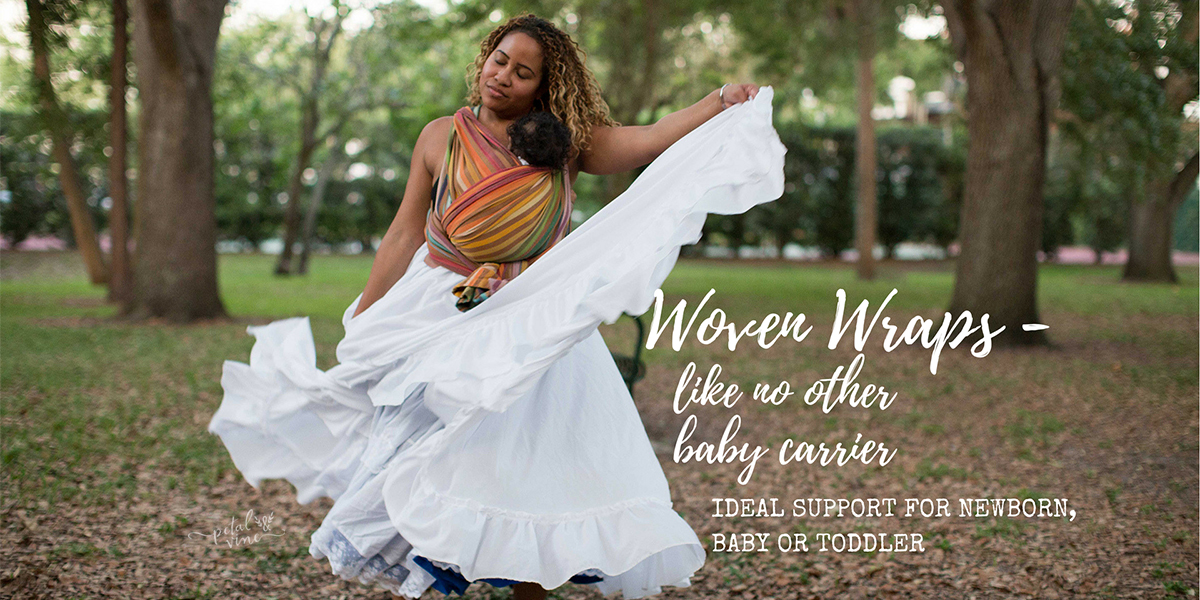 Woven Wraps - why they are like no other baby carrier