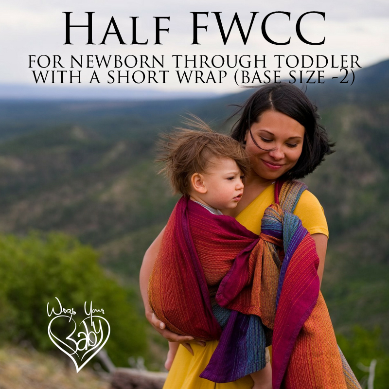 Half Front Wrap Cross Carry (Half FWCC) photo tutorial