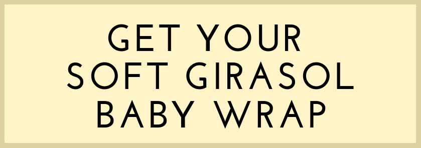 Soft Supportive Newborn Wrap Girasol Woven Wraps