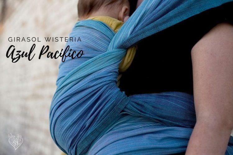 Girasol Wisteria Azul Pacifico Weft Poppins Finish
